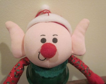 Applause Elf Toy Large Metal Bell Body 1985