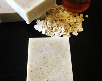 Honey Oatmeal Almond Soap Bar.