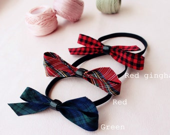 Fabric hair rubber band-elastic-tie-girls-ladies-daily-casual