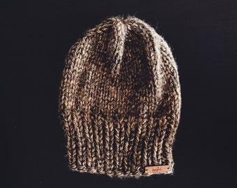 Fitted Beanie | The Blake | Cocoa