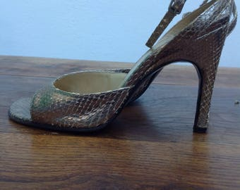 Sergio Rossi sandals. Vintage sandals. Vintage sandali. Sergio Rossi Vintage .