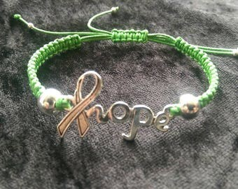 Macrame Hope charity bracelet