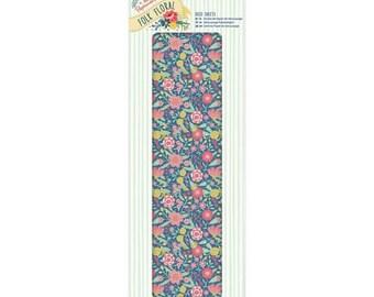 3 sheets paper fine paper 26 x 37.5 cm PAPERMANIA Folk Floral