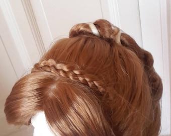 Anna Coronation Wig Frozen