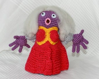 Pokémon Jynx - amigurumi crochet plush toy