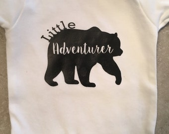 Little Adventurer Bear Onesie