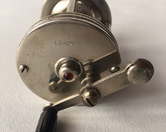 Vintage Jeweled Leader Casting Reel