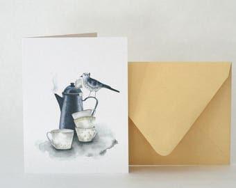 TEA & CUPS  |  CARD