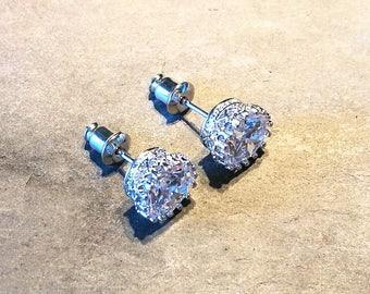 Bridesmaid jewellery, wedding gift, wedding earrings, bridesmaid gift, bridal jewellery, bridal jewelry, stud earrings, Crystal earrings