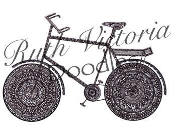 Bike No.1 - Print A4