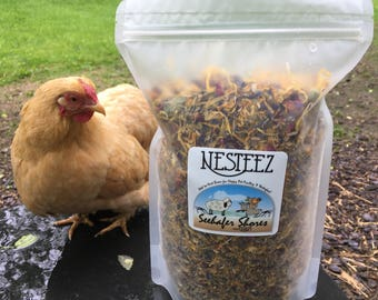 NESTEEZ Dried Herbs For Laying Birds