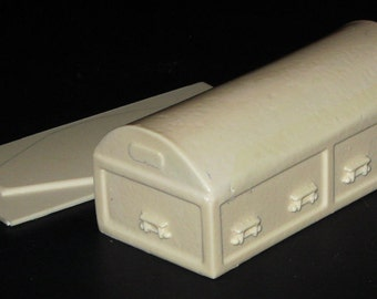 1:25 G scale model funeral casket burial vault hearse