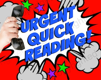URGENT PHONE Tarot Reading Quick LIVE Tarot Card Reading Fast Tarot Phone Reading Intuitive Psychic Tarot Reading Telephone Tarot Reading