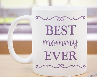 Personalized Mom Coffee Mug Custom Name Gift