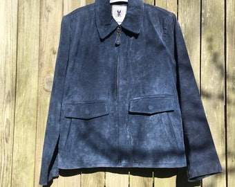 American Classics JLC Blue Suede 60s Jacket