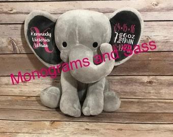 Personalized Birth Elephants