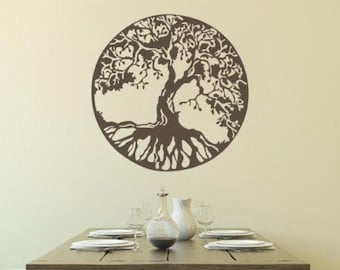 Celtic Tree Of Life - Sticker/ Vinyl / Decal
