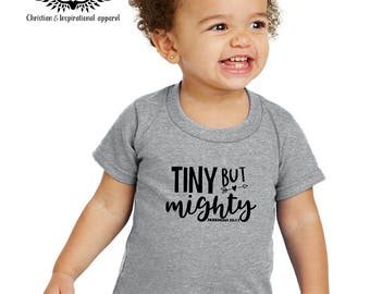 Tiny Warrior - Christian Child Tshirt