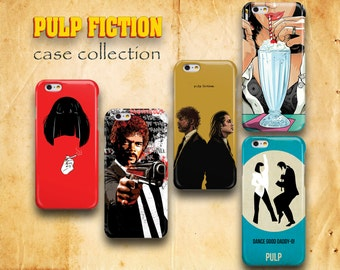 Pulp Fiction iPhone 7 Case iPhone 6 Case iPhone 6S Case iPhone 7 Plus Samsung S7 Edge Samsung Galaxy S6 iPhone 5 Case iPhone SE Case Samsung