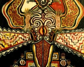 Buffalo Skull Vision