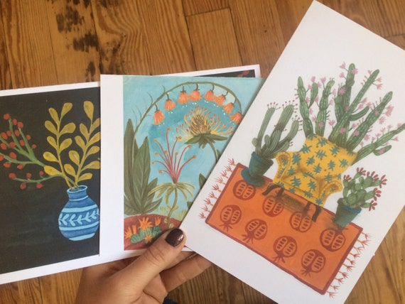 Cards (Assorted Set of 3)