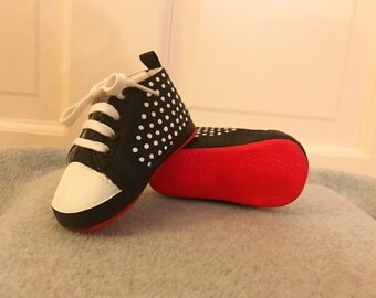 Baby Christian Louboutin Style Shoes