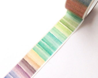 Colourful Gradient Washi Tape
