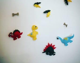Baby mobile / decor dinosaur