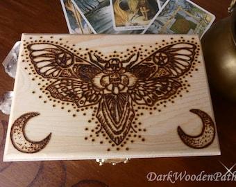 Tarot box ~ moth ~.