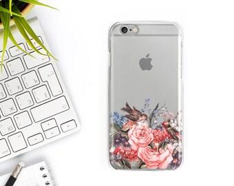 iPhone 7 Case Bird iPhone 7 Plus Case Clear iPhone 6S Case iPhone 5 Case Clear iPhone 5s case Clear iPhone SE Case Samsung Galaxy S7 Case
