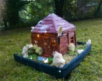 handmade mini house