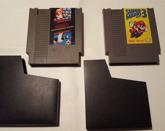 Two Nintendo Games - Super Mario/Duck Hunt and Super Mario 3