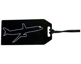 Custom Engraved Luggage Tag