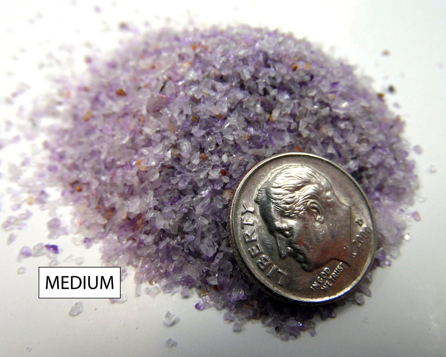 Crushed Amethyst Inlay : Crushed amethyst for inlays woodworking pen turning artists