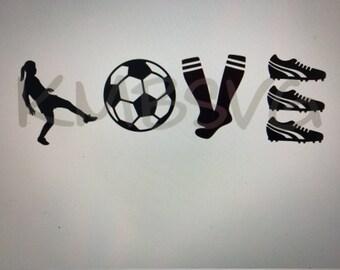 Soccer Girl Love