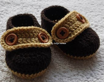Baby shoes crochet, handmade baby loafers, crochet baby shoes, crochet baby booties, handmade baby shower gift, baby booty, baby boots