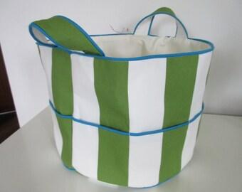 Knitting bag, crochet bag, hobby bag, tote bag