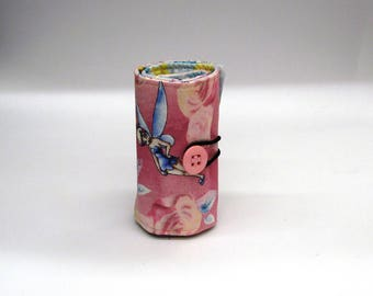 Tinkerbell Crayon roll, crayon storage, crayon holder, toys & games, school supplies, little girl gift
