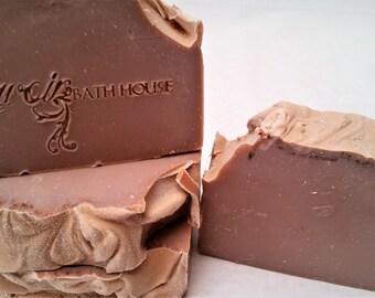 Creme Brulee, Handmade, Cold Process Soap, Handmade Soap, Bar Soap, Creme Brulee Soap, Womens Soap, Custard, Dessert, Dessert Soap