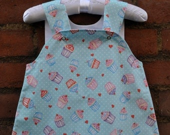 Pinafore Cup Cake Dress Size 3-6 Months