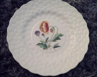 Copeland Spode embossed Poppy Plate