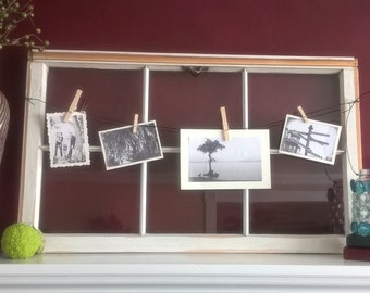 Old Window Frame / Picture Frame with glass