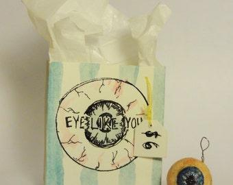 Eyeball Charm // Little Accessories