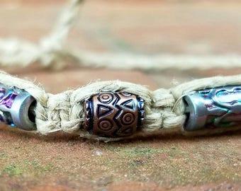 hemp bracelet, hippie jewelry, hemp jewelry, gypsy bracelet, beach jewelry, boho jewelry, summer bracelets, macrame jewelry, beach bracelets