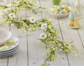 Easter Garland - Daisy Garland - Spring Garland