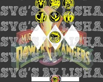 power ranger shirt