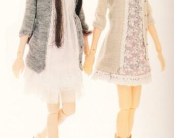 Momoko Doll E Pattern Japanese PDF Tunic\Dress