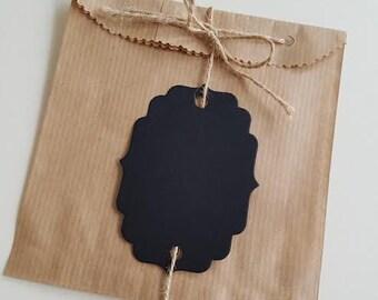 Wedding Favor Bags, Candy Bar Bags, Favor Bags, Treat Bags, 10 pc / set