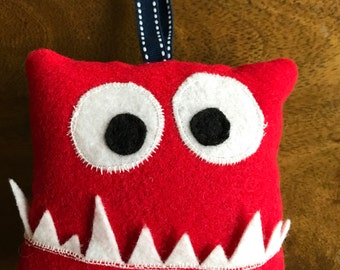 Monster Tooth Fairy Plush Pillow