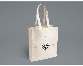 Wind Rose Tote Bag